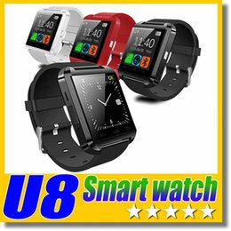 $enCountryForm.capitalKeyWord Canada - U8 Smart Watch Bluetooth Wrist Watches Altimeter Smartwatch for Apple iPhone 6 5S Samsung S4 S5 Note Android HTC phones Smartphones Free DHL