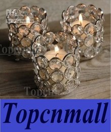 Crystal Cylinder Candle Holder Canada - Crystal tea light holder,crystal tea light votive,crystal candle holder