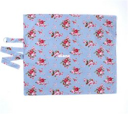 Prático Baby Breast Feeding Covers Dot Flower Printed Nursing Covers for Feeding Baby in Anyplace