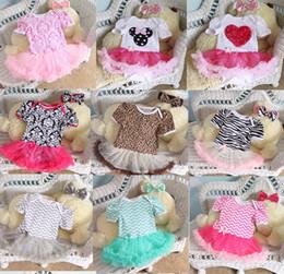 China 2016 Newborn Chevron Tutu Romper Dress & headbands Toddler Zig zag Ruffles Tutu Rompers Plain tutu Jumpsuits baby Romper Dress 27 styles suppliers