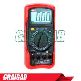 Ac Voltmeter Tester Canada - Standard Digital Multimeter UNI-T UT54 DC AC Voltmeter Ammeter Ohmmeter Tester LCD Backlight Multimetro Ammeter Multitester