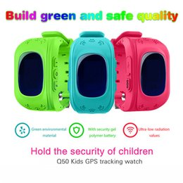 online shopping Hot Sale Q50 Kids Smart Watch with LBS Positioning GPS LCD Color Display Multiple Languages Kids smartwatch with SOS Button for Help