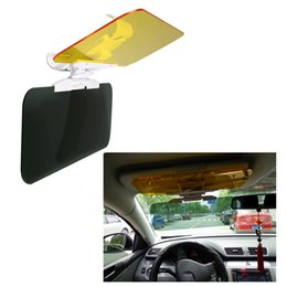 Wholesale HZYEYO Car Sun Visor Anti Dazzling Mirror For Driver Day Night Vision Auto Driving Mirror Car Clear View Glass Accessories