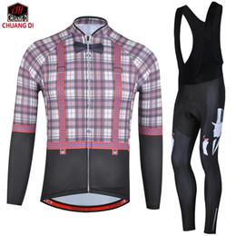Chuangdi Mens Winter Cycling Jersey Bib Pants Kits Thermal Fleece Bike  Riding Clothes Warm Outfits Shirt Brace Tights Suits Set a7cd73ab3