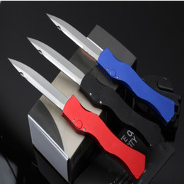 hunted knife for sale NZ - Hot sale mi HO 4 knife three colors Hunting Folding Pocket Knife Survival Knife Xmas gift for men 6 pcs freeshippin