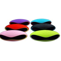 China X6 Mini Wireless Bluetooth Speakers which shape in Rugby Handsfree Portable MP3 Player Subwoofer Stereo Sound Speaker suppliers