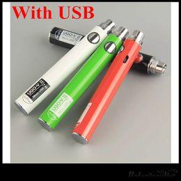 Ego v tank online shopping - EcPow UGO V II EVOD eGo T Battery mAh mAh With USB Fit CE3 Amigo Liberty V3 V5 V7 V9 Tank