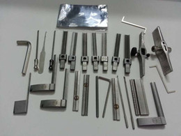 Tinfoil Pick Tools NZ - 2015 the Original version HUK ultimate edition G10 Tinfoil quick opening tool with tool case locksmith tools lock pick sets