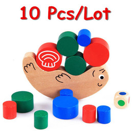 $enCountryForm.capitalKeyWord NZ - Snail Balance Game Baby Toys Education Learning Blocks Small Size Wooden Toys Child Gift Family Game Wholesale 10Pcs Lot