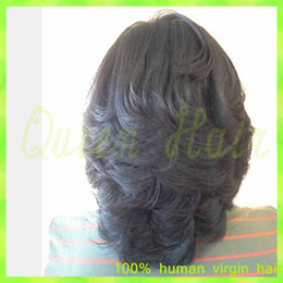 best loose deep wave hair NZ - Best Short Bob Wigs For Black Women Brazilian Straight Glueless Full Lace Wigs Unprocessed Virgin Hair Full Lace Human Hair Wigs