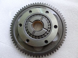 Discount yamaha gear - Wholesale- NEW RHINO 660 STARTER CLUTCH WITH IDLER GEAR FITS YAMAHA RHINO 660 2004-2007