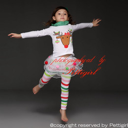 Animal Retail Canada - Pettigirl 2019 Retail Children Clothing Suits Hot Sale Animail Pattern Up&Legging Baby Girls Sets for Girls Clothing CS31122-02