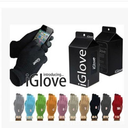 Iglove screen touch online shopping - Fashion Adults Iglove For Ipad Smart Phone Capacitive Touch Screen Gloves Telescopic Acrylic Fibres Knitting Glove High Quality zx B