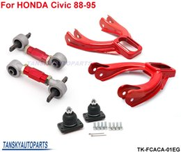 honda lower arms 2019 - Tansky - Front + Rear Camber Kit  Lower Control Arm (Fits For 92-97 Honda Civic CRX EF) TK-FCACA-01EG