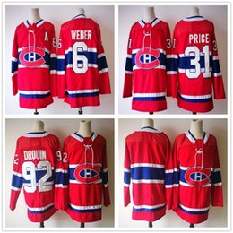 411434b02 ... White 100TH Anniversary Jersey Mens Youth Women Montreal Canadiens 92  Jonathan Drouin Jerseys 2018 New Season Red Hockey 31 Carey ...
