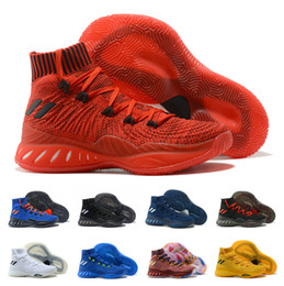 fed9dc1af84 Hot Sale 2018 Crazy Explosive 2017 Andrew Wiggins Basketball Shoes for High  quality Mens Sports Training Sneakers Size 40-46 Free Shipping