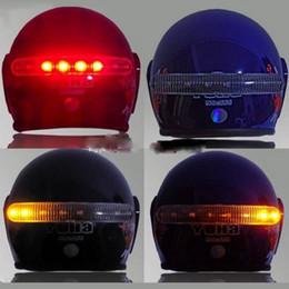 $enCountryForm.capitalKeyWord NZ - 8 LED 2.4G Wireless Universal Moto Brake and Turn Signal Light Warning Light Helmet Lamp Motorcycle Accessories