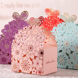 $enCountryForm.capitalKeyWord NZ - Romantic Hollow out Wedding Gift Box Elegant Luxury Decoration Laser Cut Party Sweet Favors Guest Gift Wedding Paper Candy Boxs THZ170