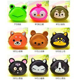 $enCountryForm.capitalKeyWord Canada - Korean Candy Colored Girls Coin Bags Women Key Wallets Cute Cartoon Silicone Mini Coin Purse Children Kids Gifts Coin Bag Purse Kid Gift