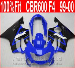 $enCountryForm.capitalKeyWord NZ - Brand Body parts Fitment for Honda CBR 600 F4 dark blue black custom fairings 1999 2000 fairing kit CBR600 F4 99 00 CAPD