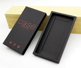 Discount retail packaging for cell phone cases - Luxury Kraft Paper Packaging Box Protective Phone Case Packaging Box Retail Package for iphone 6 7 8 plus for Cell Phone