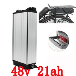 Battery Bicycle Kit Canada - ebike lithium battery 48v 21ah lithium ion bicycle 48v electric scooter battery for kit electric bike 1000w with BMS , Charger