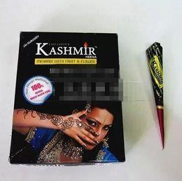 TemplaTes feeT online shopping - Authentic original let import natural black HENNA plant grenache tattoo paste black send template