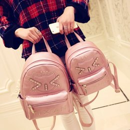$enCountryForm.capitalKeyWord NZ - [new] every day special offer leisure Korean punk rivets super Q Mini Pack double bag backpack fashionista