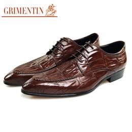 $enCountryForm.capitalKeyWord NZ - GRIMENTIN Hot sale brand mens dress shoes fashion designer oxford shoes genuine leather black brown formal business office men shoes new CG