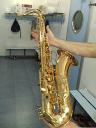 Großhandel Selmer Super Action 80 Series II Saxophon Hohe Qualität Frankreich Henri Goldlack Tenorsaxophon Instrumente Messing Saxophon Mit Koffer