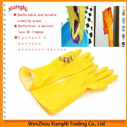 $enCountryForm.capitalKeyWord NZ - New & Thick Warm Household Latex Waterproof Gloves, Clean Dish Washing Lengthen for Laundry, and Kitchen Cleaning Dishwashing order<$18no tr