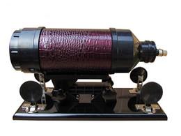 make sex toys for women 2019 - Female Automatic Make Love Sex Machine 6 cm Retractable Gun with Silicone Dildo 0-415times min Masturbator for Women Sex