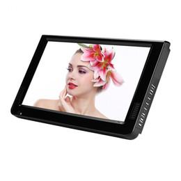 LEADSTAR 10 Zoll Portable Digital HD TV mit analogen Fernsehempfänger Antenne DVB-T2 TV-Unterstützung TF-Karte und USB Audio Video