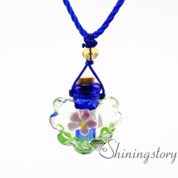Scented Oil Bottles Canada - essential oil diffuser necklace wholesale scent necklace diy essential oil diffuser necklace small perfume bottles essential oil necklaces