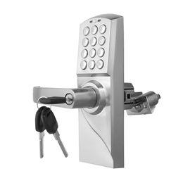 Keypad Entry Locks UK - Digital Electronic Code Keyless Keypad Security Entry Door Lock Left Handle Brand New