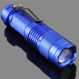 $enCountryForm.capitalKeyWord Australia - Blue Portable Mini Q5 Zoomable 2000 Lumen LED Flashlight Torch Lamp For Best Price
