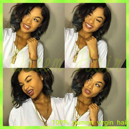 $enCountryForm.capitalKeyWord Canada - 7A Glueless Full Lace Wigs Unprocessed Virgin Malaysian Full Lace Human Hair Wigs For Black Women,Lace Front Wig Short Bob Wigs