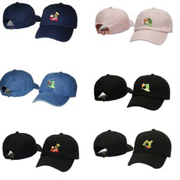 aeea52c9ef008 Frog Tea Snapback Kermit None Of My business Dad Hat Lebron James casquette  kanye west Big Daddy hat Men Women Girl s Baseball caps