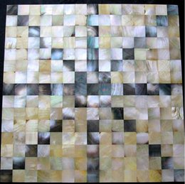 $enCountryForm.capitalKeyWord Australia - Yellow gold black mother of pearl shell mosaic kitchen wall tiles backsplash MOP107 8mm thickness shell mosaics mother of pearl tile