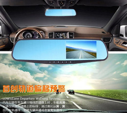 sensors camera 2019 - Car dvr Vehicle traveling data recorder rearview mirror double lens 1080 p high-definition wide-angle double recorded be