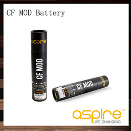Chinese  Aspire CF Mod Fit 18650 Battery for Sub ohm With Carbon Fiber Coated Tube 510 Thread Electronic Cigarette Mods manufacturers