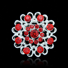 Vintage rhinestone pins online shopping - Christmas Brooches Fashion Jewelry colors Vintage Style Black Rhinestone Crystal Diamante Party Brooches Pins for Women