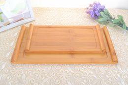 $enCountryForm.capitalKeyWord NZ - Kinds Natural Bamboo China Kungfu Tea Tray Solid Flat Plate Scroll Serving Tray 27x13cm   33x17cm Drop Shipping