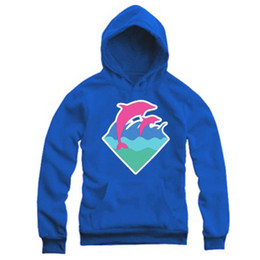 Pink Dolphin White Hoodie UK - Free Shipping 2015 New Autumn Winter Men Fashion Clothing Pink Dolphin Hoodies Sweater For Men Hiphop Sportswear Wholesale M-4XL