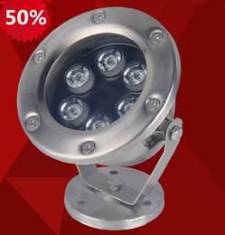 Alta potência 9 W CONDUZIU a luz subaquática CONDUZIU a luz da piscina LED fonte de luz da lâmpada DC12V 18 W IP68 RGB e Monocromático venda por atacado