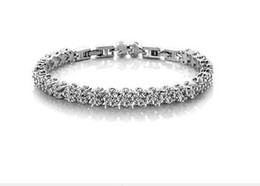 track days 2019 - Free Shipping with tracking number Top Sale Sterling Silver Bracelet Sterling Silver CZ Bracelet Silver Jewelry 1509 che