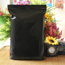 $enCountryForm.capitalKeyWord Canada - Wholesale 7*10cm Black Self Seal Ziplock Bag Retail Plastic Packaging Opaque Zipper Zip Lock Packing Bag Resealable Valve Pouch Poly Bag