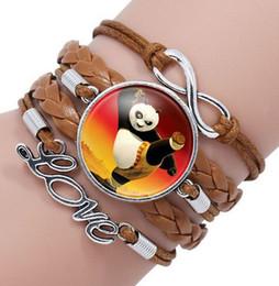 $enCountryForm.capitalKeyWord Canada - Infinity Charm panda bamboo Bracelets fashion Leather Bracelets Multilayer Heart Time Stone Panda Bracelet Jewelry