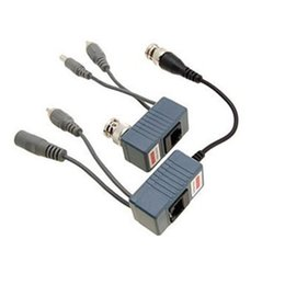 $enCountryForm.capitalKeyWord NZ - Wholesale-BNC Coax RJ45 Balun with Audio Video Power over Transceiver Cables Free Shipping
