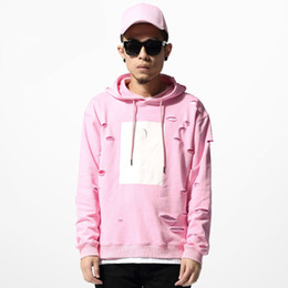 Hot Pink Mens Hoodie Online | Hot Pink Mens Hoodie for Sale